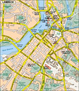 Limerick EPS map