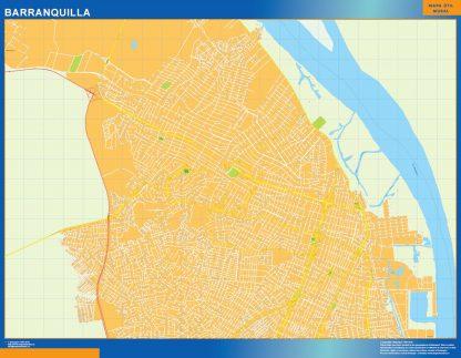 Mapa Barranquilla