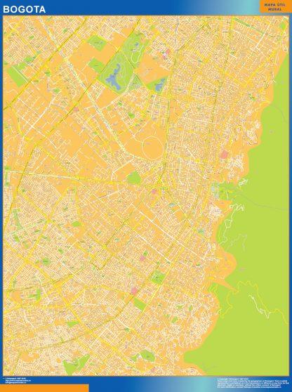 Mapa Bogota Centro