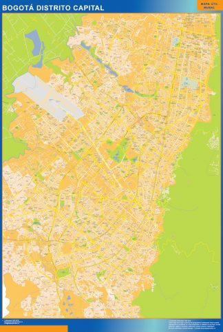 Mapa Bogota Distrito Capital