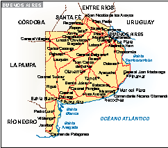 Mapa Buenos Aires
