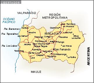 Mapa Libertador