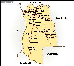 Mapa Mendoza