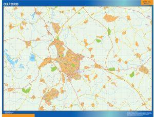 Oxford Vinyl Map