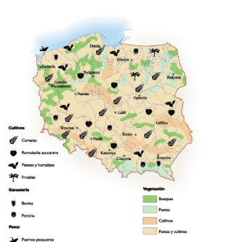 Poland Land Use map