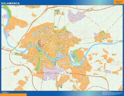 Salamanca Mapa Vinilo