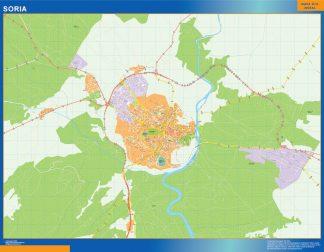 Soria Mapa Vinilo
