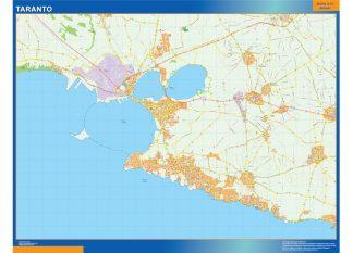 Taranto Wall Map