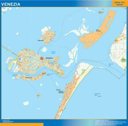 Venezia Wall Map