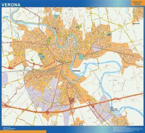 Verona Wall Map