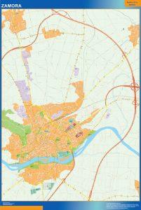 Zamora Mapa Vinilo