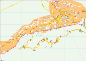 Andorra la Vella Vector EPS Map