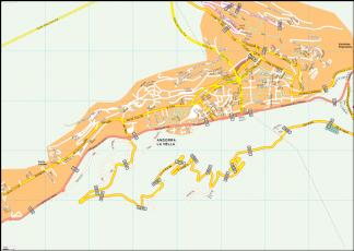 Andorra la Vella Vector EPS Map
