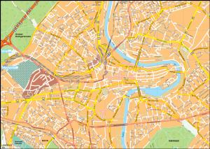 Bern Vector EPS Map