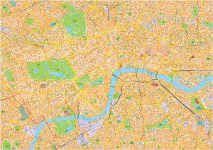 London Vector Steetmap