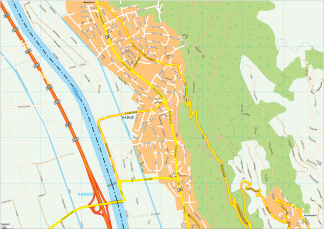 Vaduz Vector EPS Map