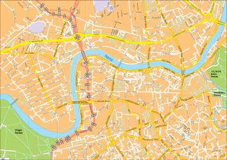 Vilnius Vector EPS Map