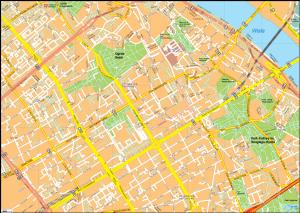 Warsaw Vector EPS Map
