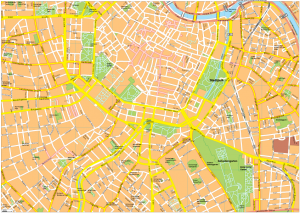 Wien Vector EPS Map